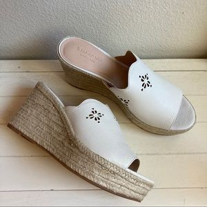 Kate Spade Tenley Espadrille Wedge Sandals Shoes